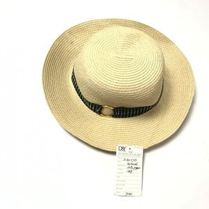 D&Y David & Young Women's Fedora Hat Natural Color